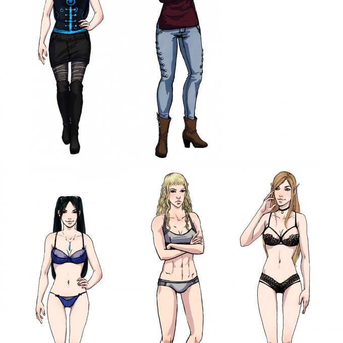 Outfits chapter3